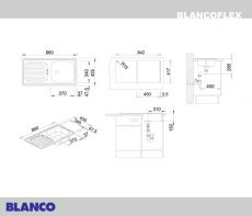 Blanco FLEX stainless steel 511917